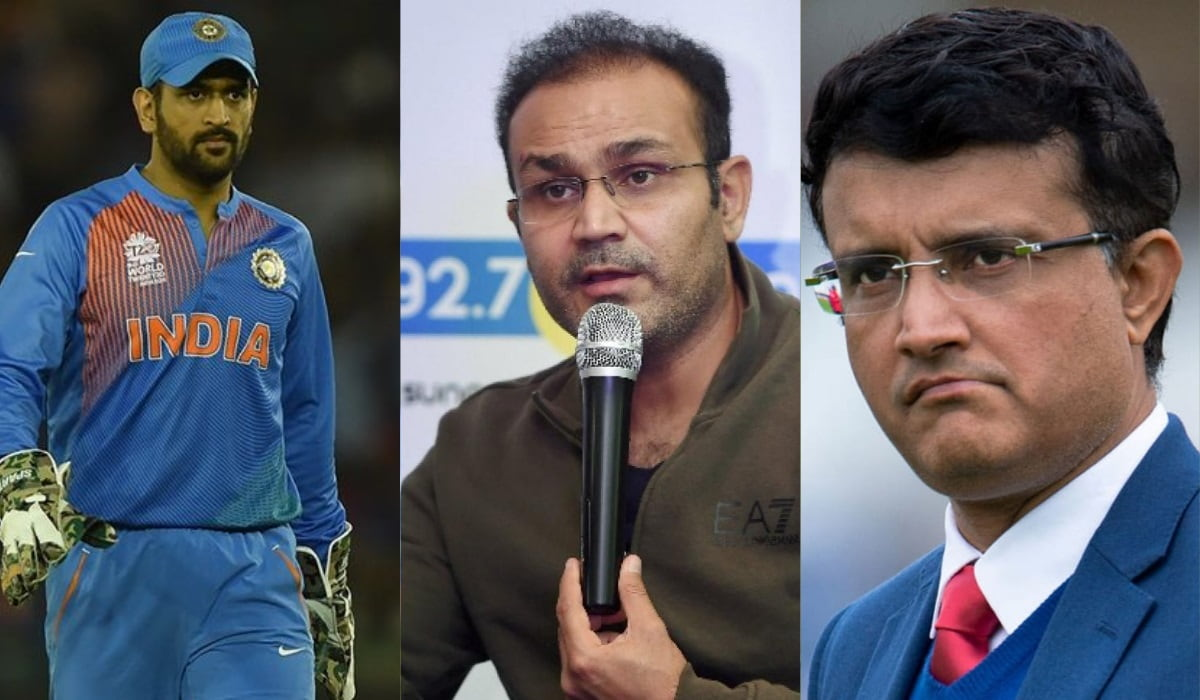 Virender Sehwag names the best India captain between Sourav Ganguly and MS Dhoni