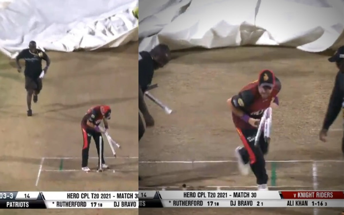 Watch - A race to pick wickets between colin munro and groundsman