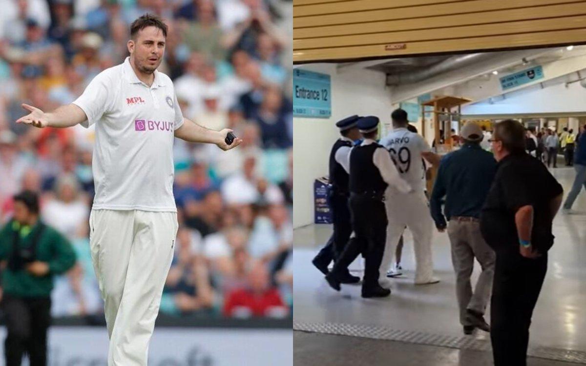 Cricket Image for VIDEO :  ज़ारवो के साथ क्या हुआ था 'Behind The Scenes', देखिए पूरा वीडियो