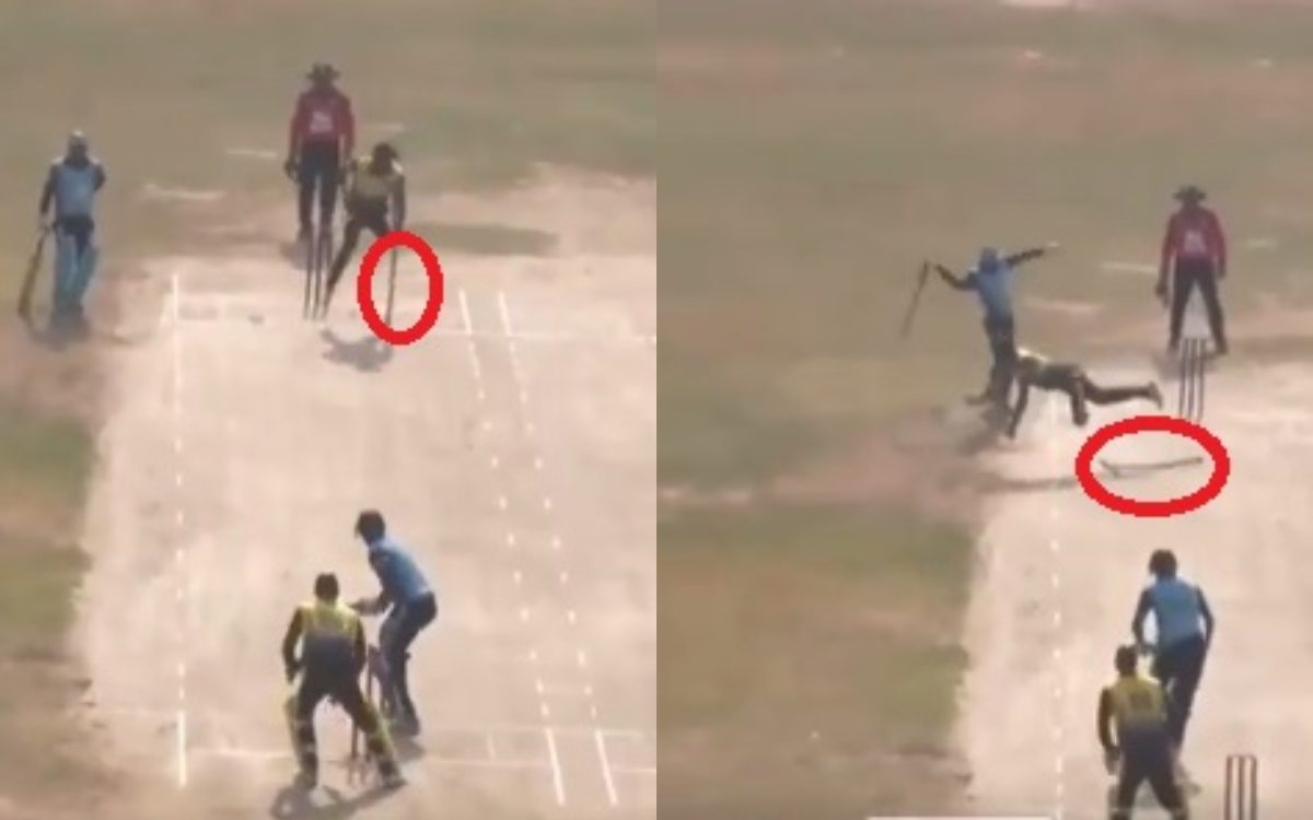 Cricket Image for Mitchell Mcclenaghan Reaction After Divyang Cricketer Took A Brilliant Catch