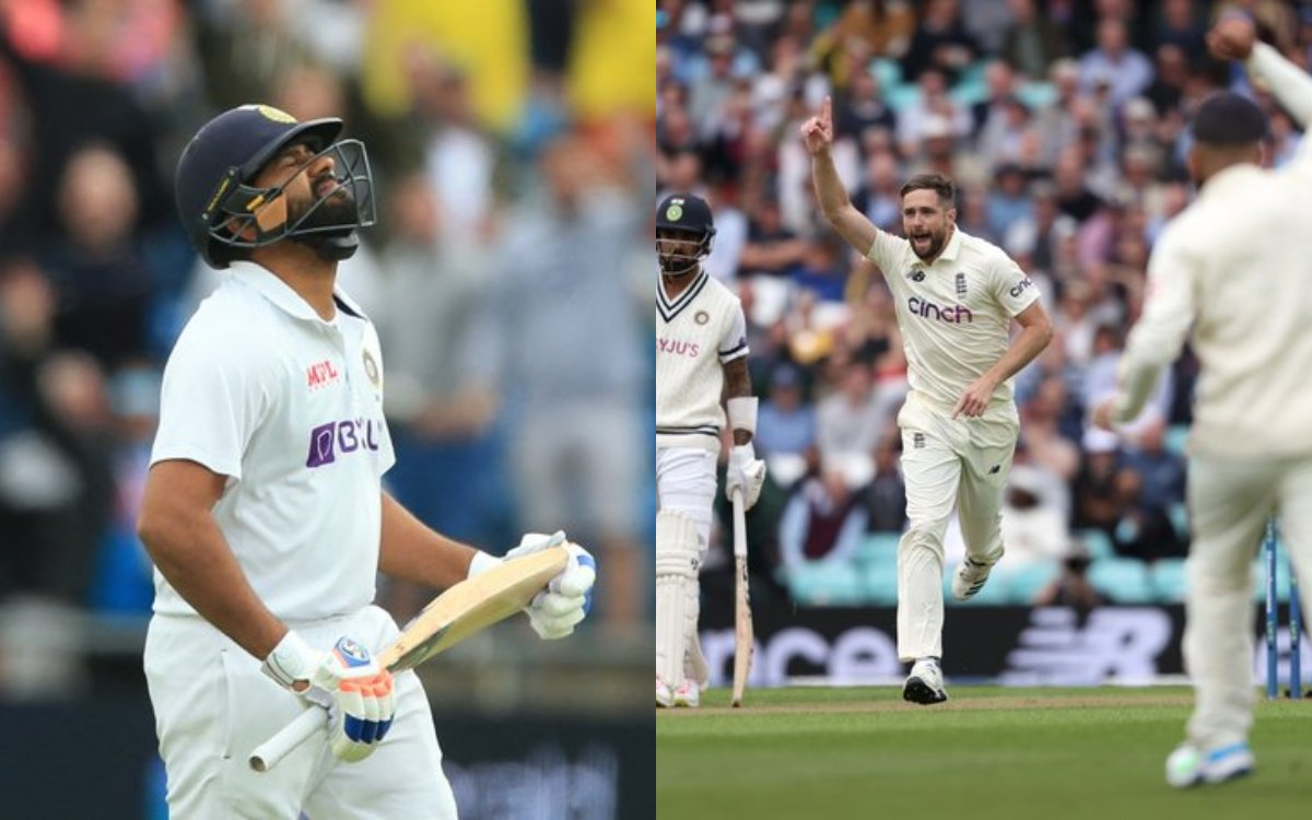 Cricket Image for VIDEO : 'वेलकम बैक क्रिस वोक्स', पहले ही ओवर में रोहित शर्मा को किया आउट