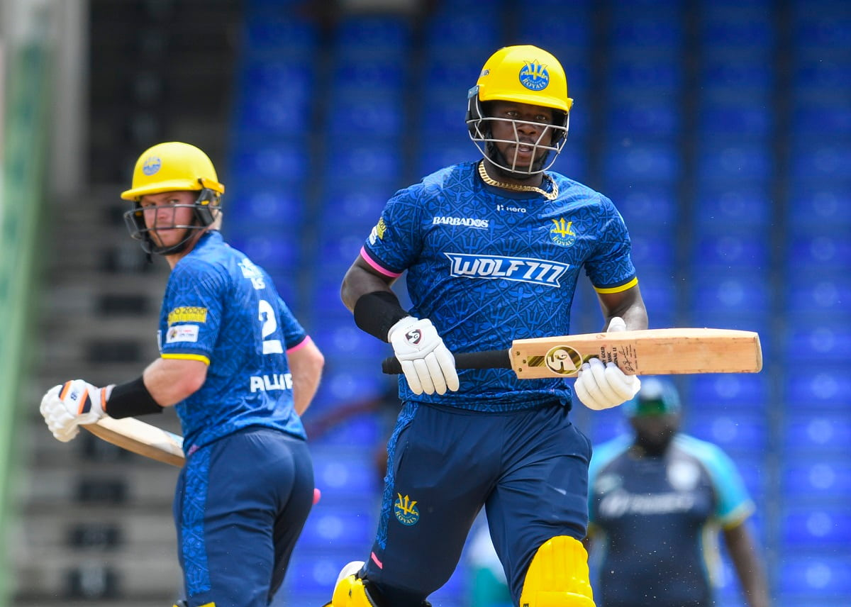 Cricket Image for CPL 2021: Barbados Royals Beat Saint Lucia Kings By 8 Wickets