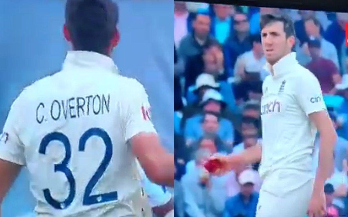 Cricket Image for VIDEO : अंग्रेज बॉलर ने लिया पुजारा से पंगा, पुजारा ने नहीं दिया बदतमीजी पर रिएक्श