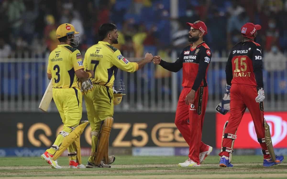 Cricket Image for IPL 2021: बैंगलोर को हराकर पॉइंट्स टेबल में टॉप पर पहुंची चेन्नई सुपर किंग्स, 6 वि