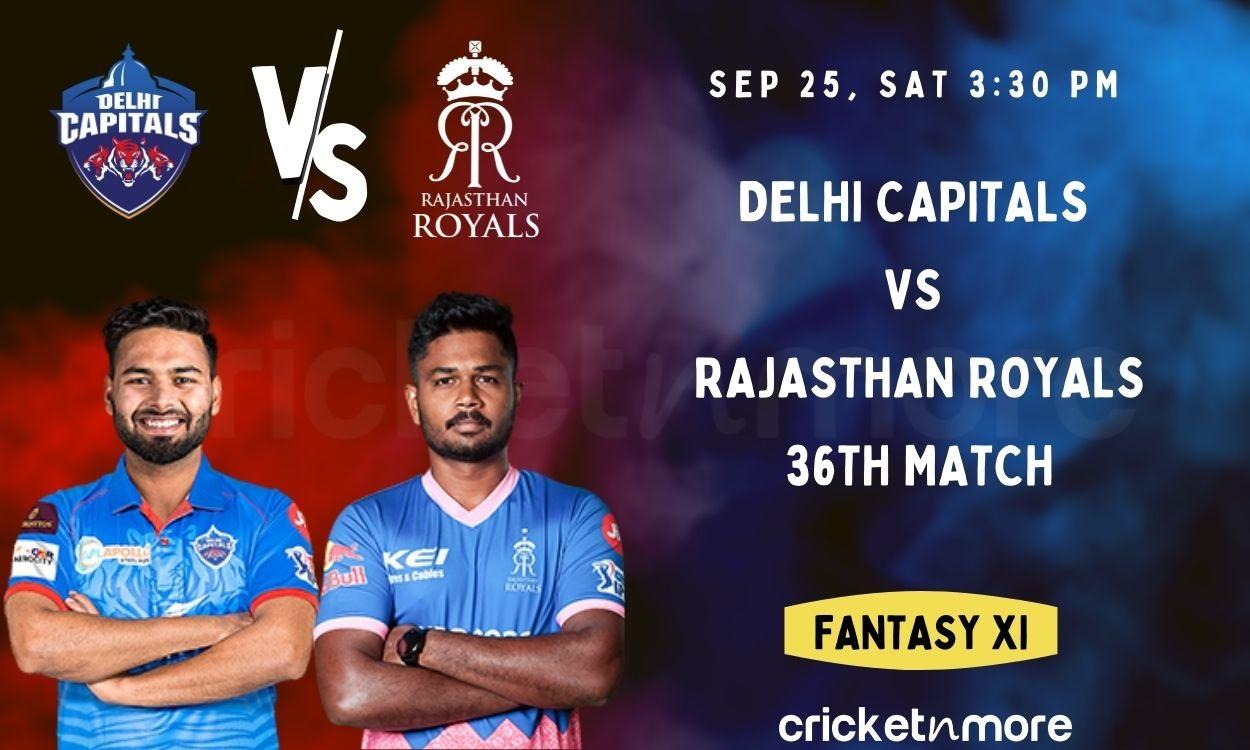 Cricket Image for Delhi Capitals vs Rajasthan Royals, 36th IPL Match – Cricket Match Prediction, Fan