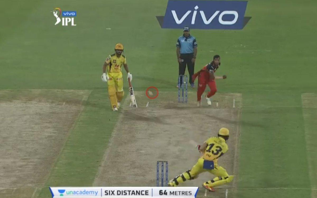 Cricket Image for VIDEO : सैनी के साथ फाफ ने किया खिलवाड़, 'दिल स्कूप' खेलकर लगाया सिक्स