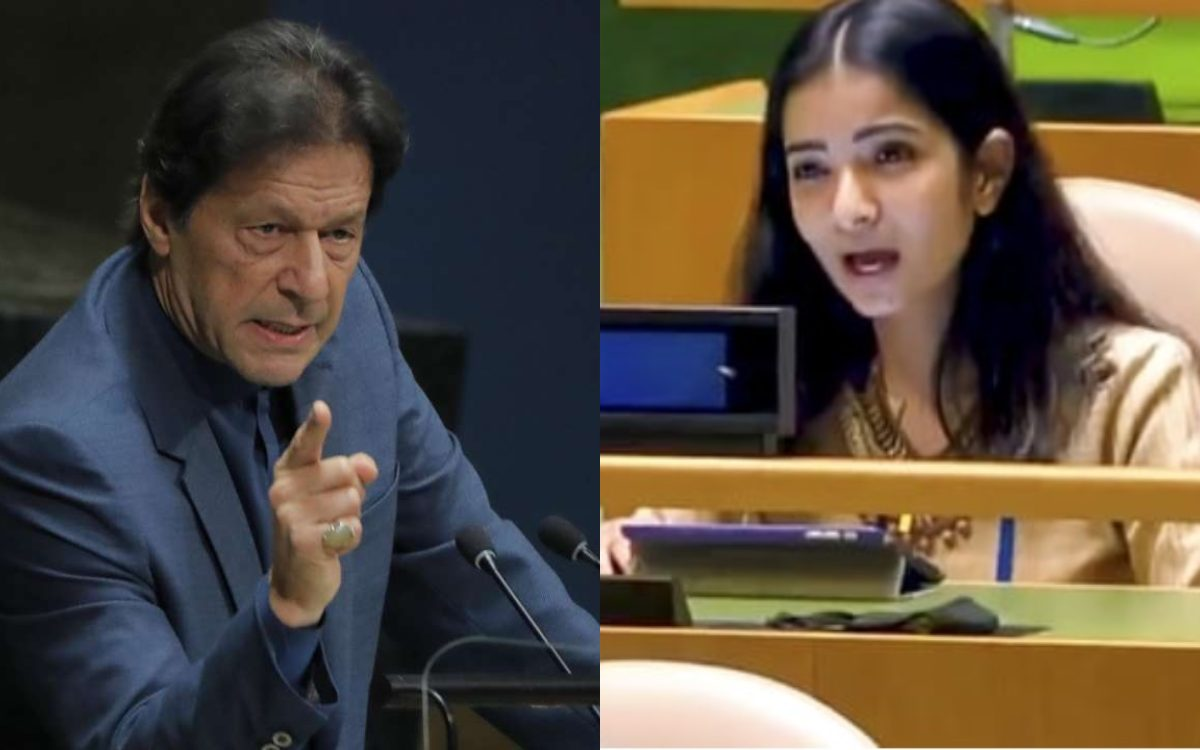 Cricket Image for Sneha Dubey Strong Answer To Former Pakistan Cricketer And Current Pm Imran Khan