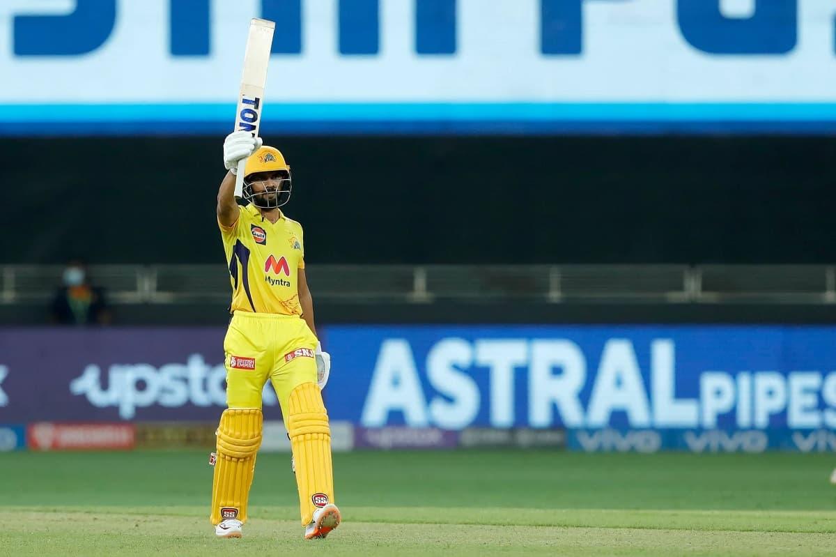 IPL 2021: Gaikwad's 88* Takes CSK To 156/6 Against Mumbai Indians