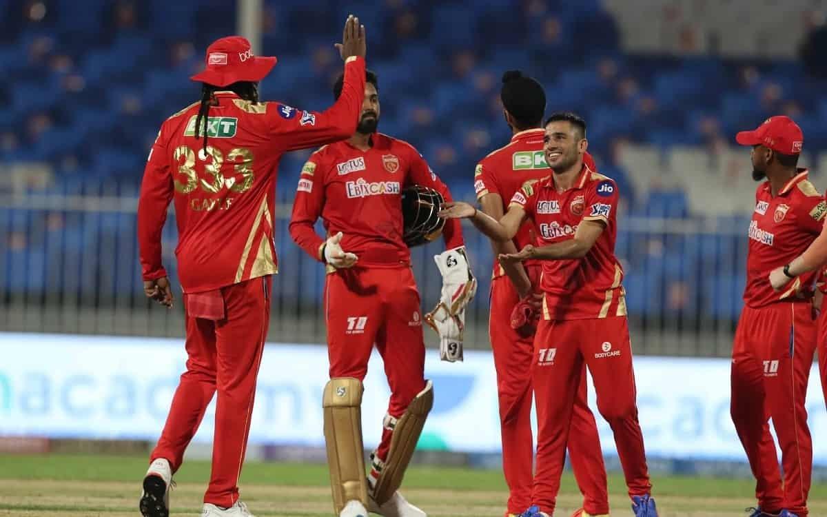 Cricket Image for IPL 2021: ਪੰਜਾਬ ਕਿੰਗਜ਼ ਨੇ ਹੈਦਰਾਬਾਦ ਨੂੰ 5 ਦੌੜਾਂ ਨਾਲ ਹਰਾਇਆ, ਰਵੀ ਬਿਸ਼ਨੋਈ ਨੇ ਲੁੱਟੀ ਮਹਿ