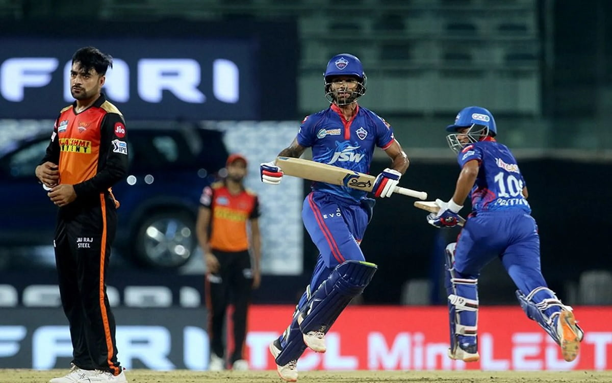 Cricket Image for IPL 2021: Top Performers In DC v SRH Fixture