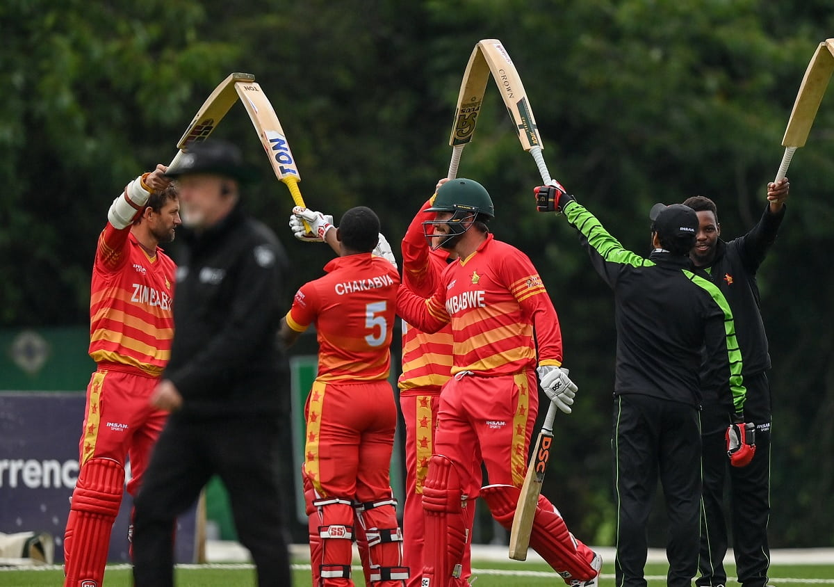 Cricket Image for Ireland Beats Zimbabwe As Brendan Taylor Retires