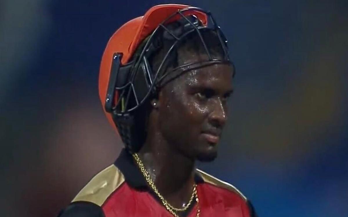Cricket Image for Hyderabad Vs Punjab Jason Holder Heart Broken Could Not Bear The Pressure Of The L