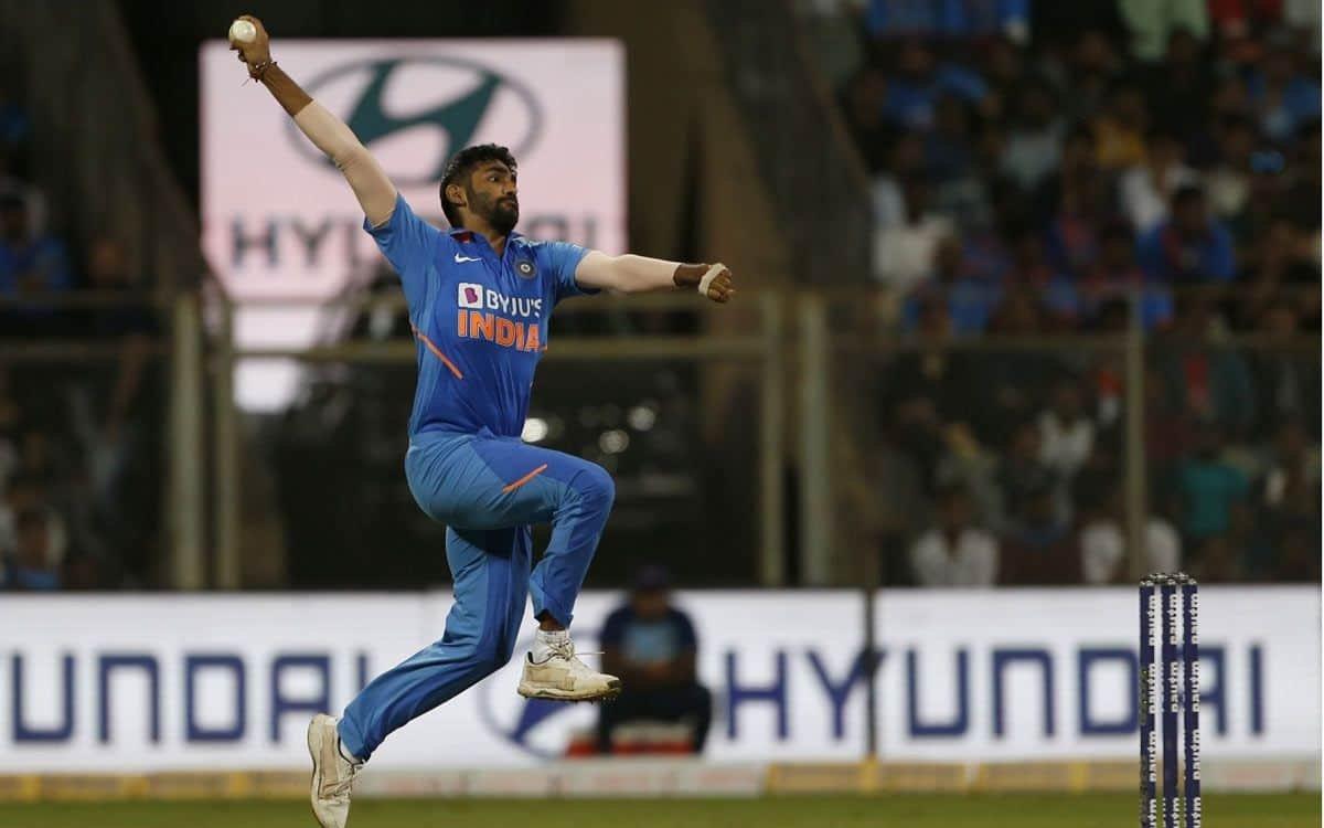 Cricket Image for VIDEO : जसप्रीत बुमराह का पुराना वीडियो वायरल, शुरुआत में इस एक्शन से करते थे बॉलि