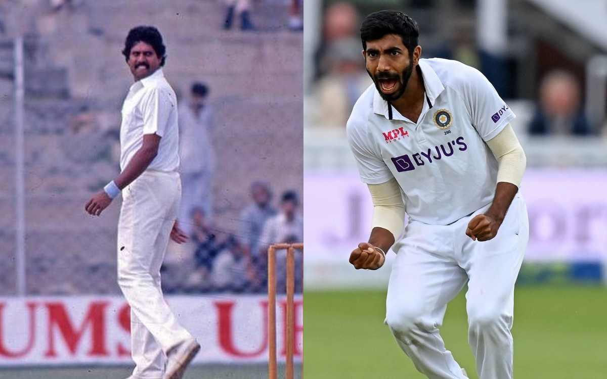 Cricket Image for बुमराह और कपिल की नहीं की जा सकती है तुलना, पूर्व तेज गेंदबाज ने बताया फर्क