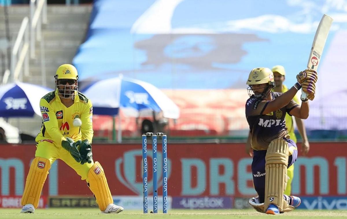 kkr set 172 runs target for chennai super Kings