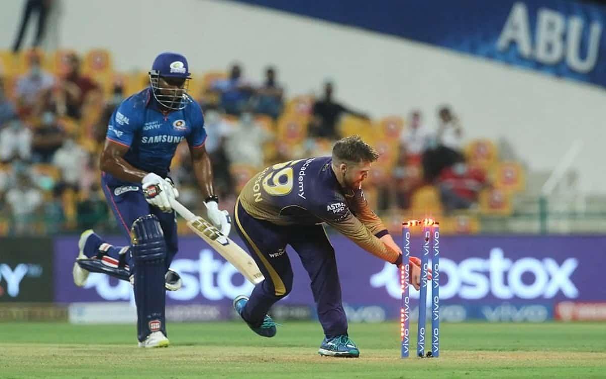 Cricket Image for IPL 2021: शानदार शुरूआत के बाद लडखडाई मुंबई की पारी, केकेआर को जीत के लिए चाहिए 15