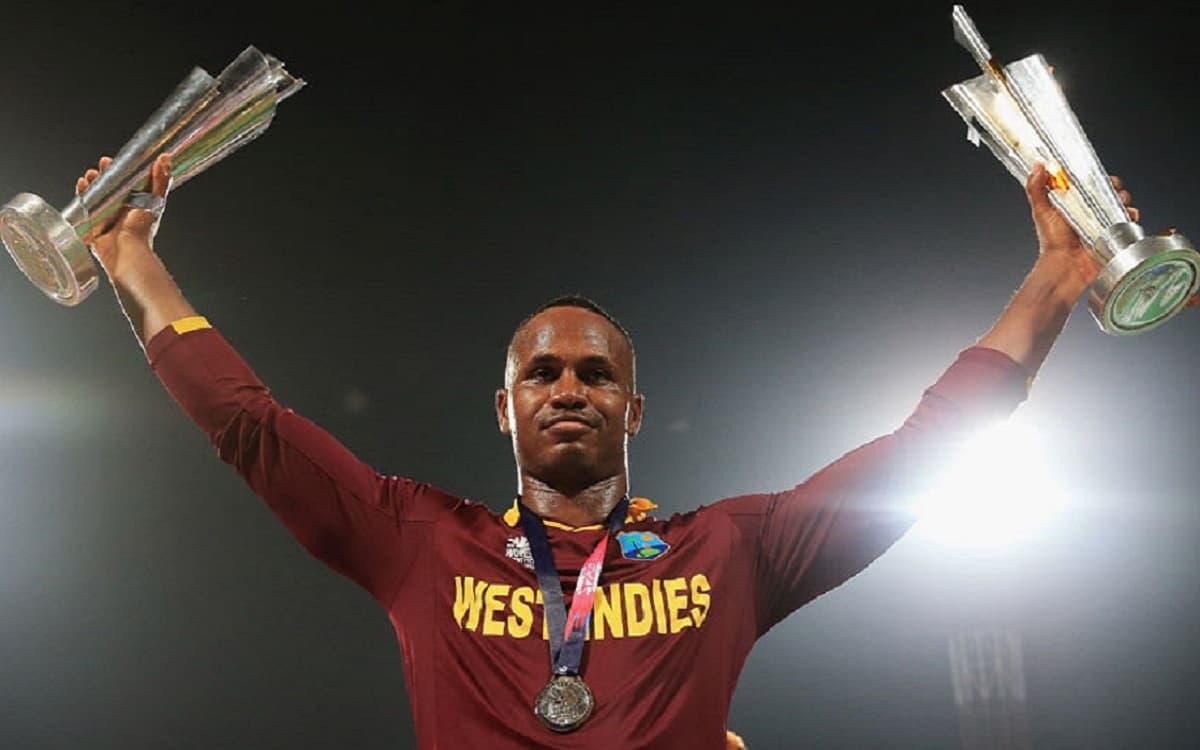 Cricket Image for ICC के हत्थे चढ़े विंडीज के पूर्व क्रिकेटर मार्लन सैमुअल्स, 14 दिनों में देना है 4