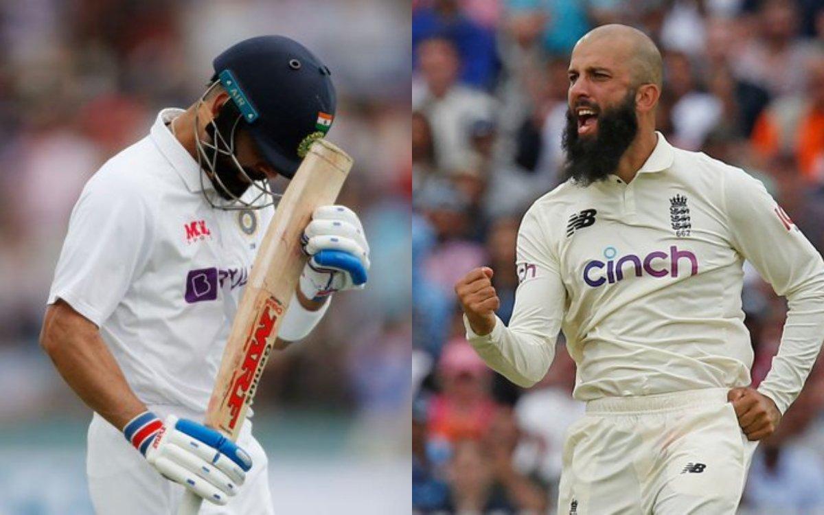 Cricket Image for VIDEO: मोईन अली ने तोड़े करोड़ों दिल, कुछ ऐसे लिया विराट का 'सरप्राइज़' विकेट