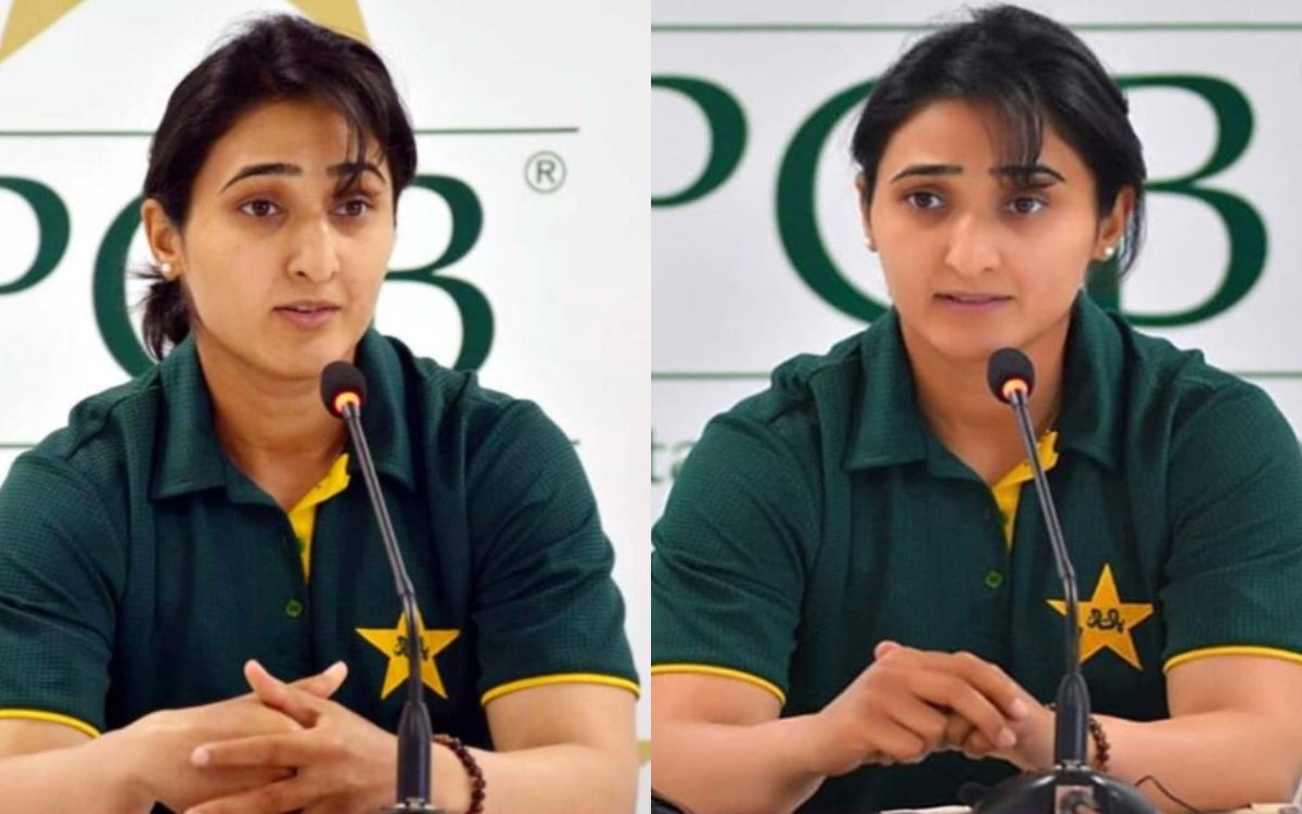 Cricket Image for Pakistan Cricket Captain Bismah Maroof Troll After She Says Pak As Peace Loving Na