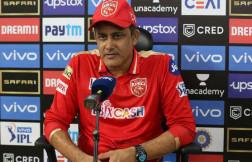 may rain sixes in sharjah cricket stadium between punjab kings and rajasthan royals match says anil kumble