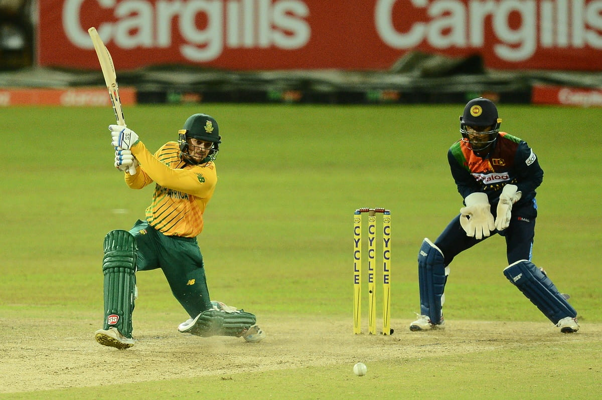Cricket Image for Quinton De Kock Storms Into Top 10 ICC T20I Rankings