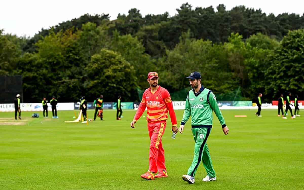 Rain washed the second ODI between Ireland-Zimbabwe