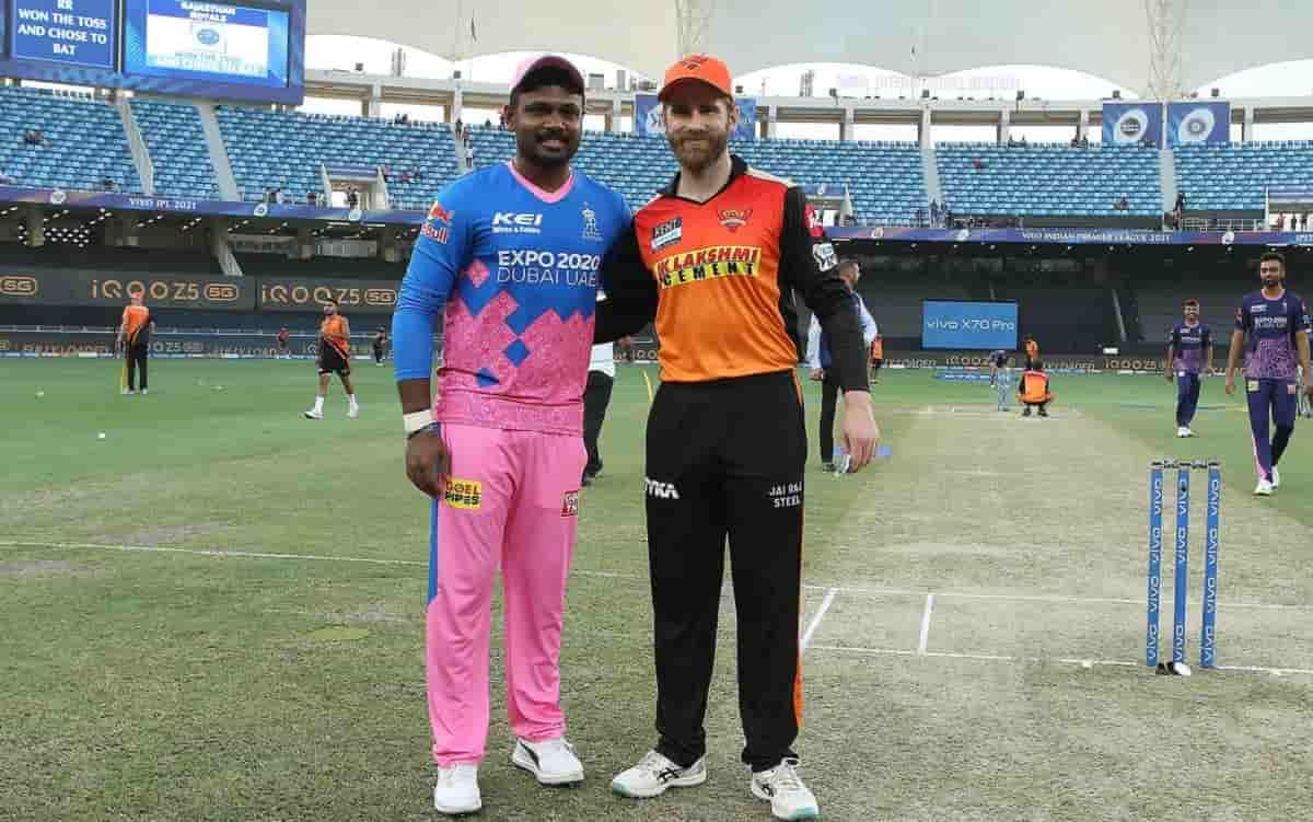 Cricket Image for IPL 2021: सनराइजर्स हैदराबाद के खिलाफ टॉस जीतकर राजस्थान ने चुनी बल्लेबाजी, प्लेइं