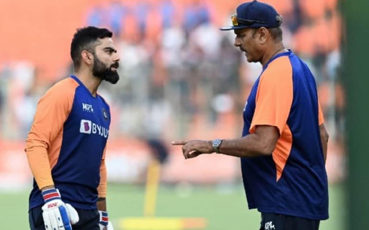 Cricket Image for  क्या शास्त्री ने दिया है कोहली को सीमित ओवर खेल से कप्तानी छोड़ने का सुझाव?, देखे