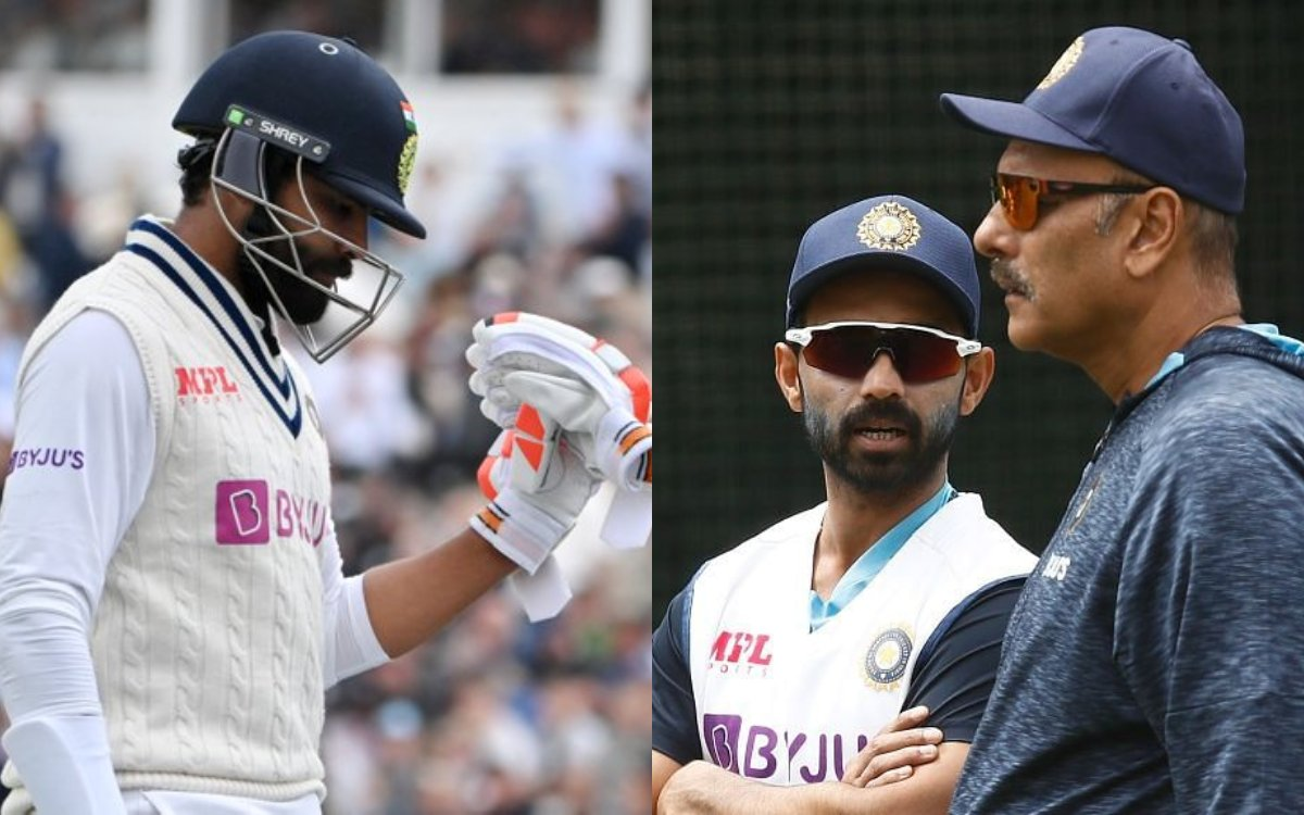 Cricket Image for टीम इंडिया ने दिया इंग्लैंड को सरप्राइज़, रहाणे से पहले जडेजा ने मारी एंट्री