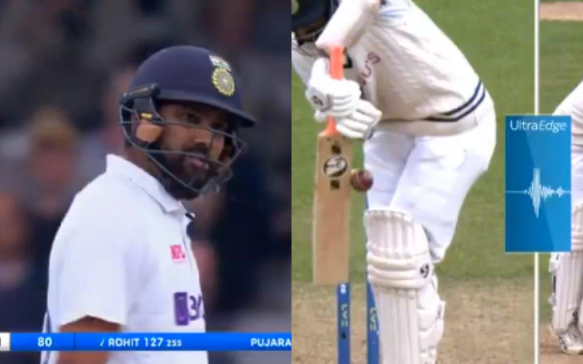 Cricket Image for VIDEO : '5 गेंदों में बदल गई दुनिया और ज़ज्बात', नई गेंद नहीं झेल पाए रोहित और पुज
