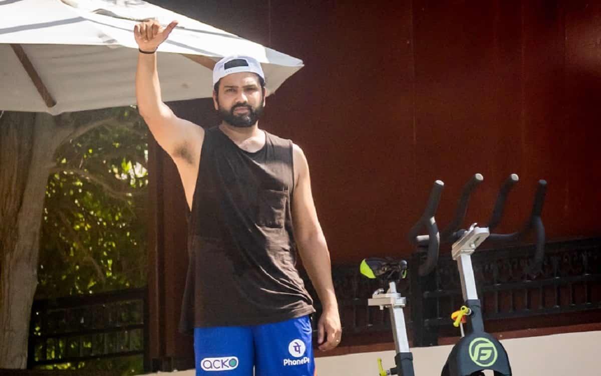 Cricket Image for IPL 2021: आईपीएल पार्ट-2 के लिए रोहित शर्मा तैयार, क्वारंटीन में की ट्रेनिंग शुरू