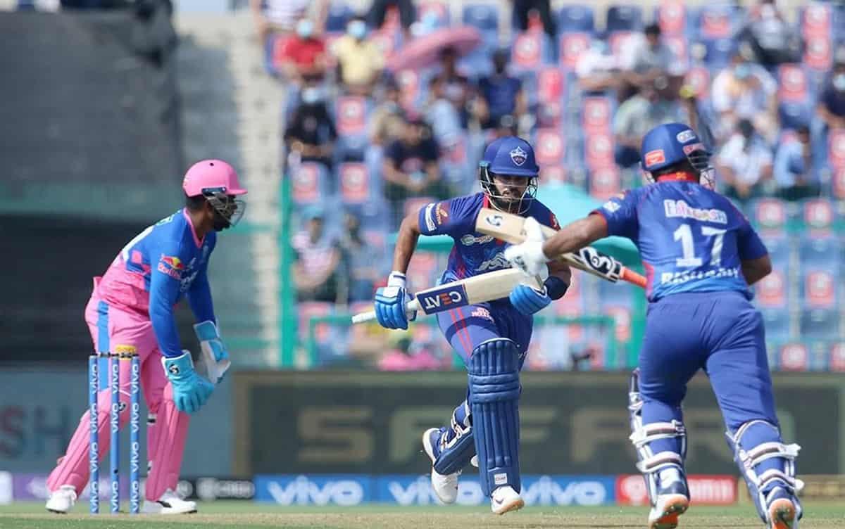 Cricket Image for IPL 2021: खराब शुरूआत के बावजूद दिल्ली ने दिया राजस्थान को 155 रनों का टारगेट, अय्