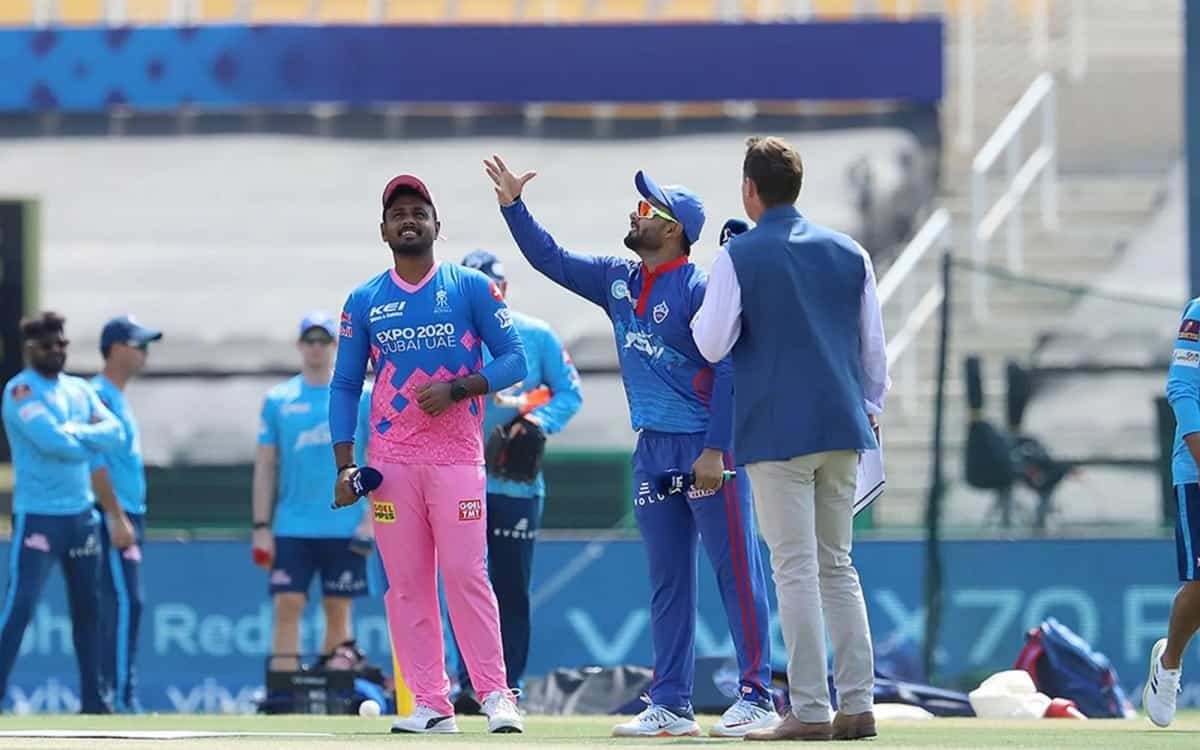 Cricket Image for IPL 2021: दिल्ली कैपिटल्स के खिलाफ टॉस जीतकर राजस्थान ने किया गेंदबाजी का फैसला, द