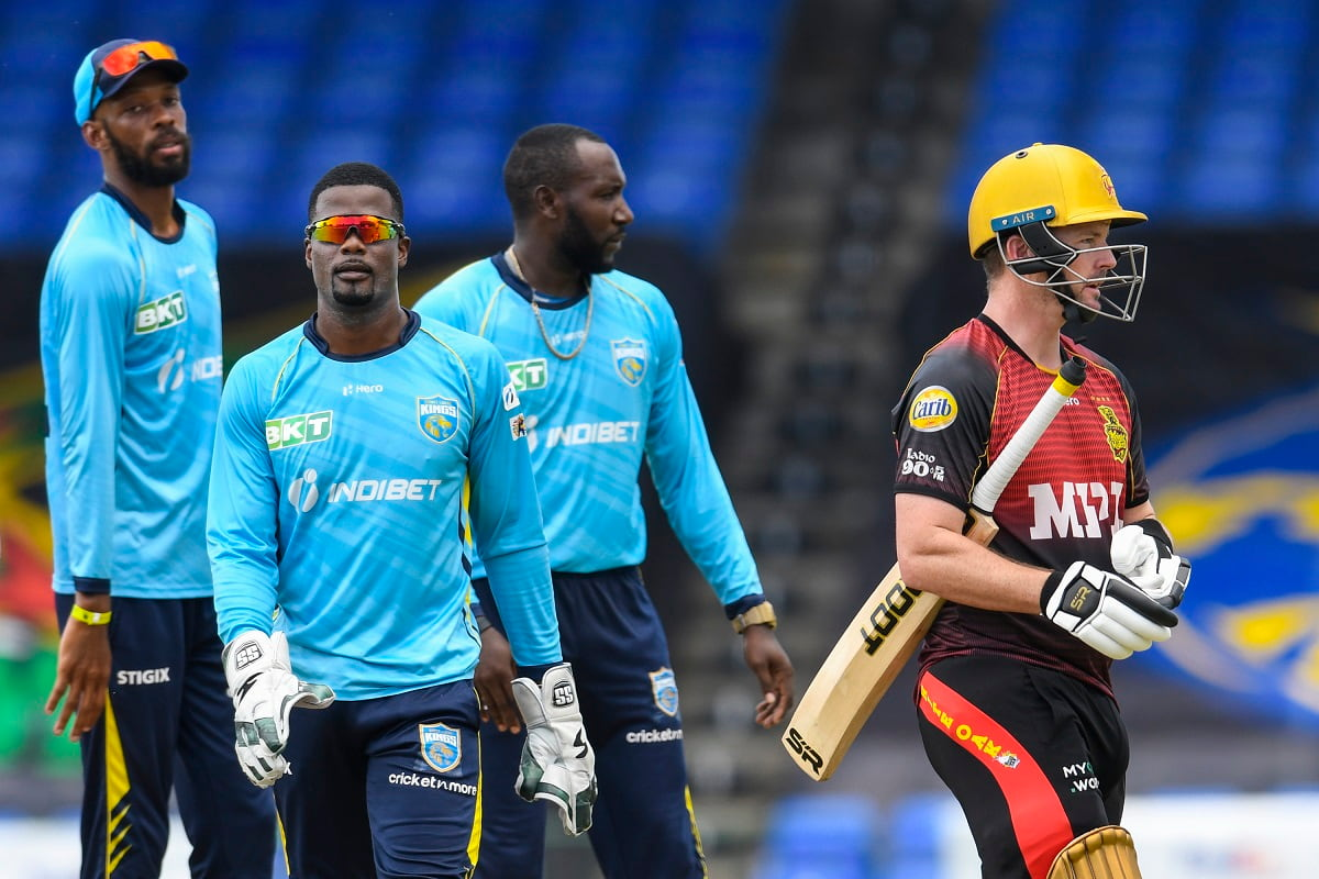 Cricket Image for Saint Lucia Kings Take On Knight Riders In 1st Semi-Final Of CPL 2021