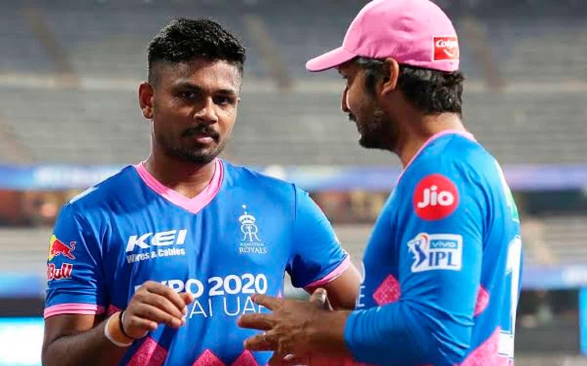 Cricket Image for IPL 2021: खिलाड़ियों का खून गर्म करने के लिए सैमसन ने दी मोटिवेशनल स्पीट, देखें वी