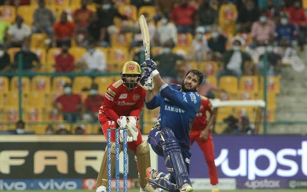 Cricket Image for IPL 2021: ਸੌਰਭ-ਹਾਰਦਿਕ ਦੀ ਸ਼ਾਨਦਾਰ ਪਾਰੀ ਨੇ ਮੁੰਬਈ ਇੰਡੀਅਨਜ਼ ਨੂੰ ਦਿਵਾਈ ਜਿੱਤ, ਪੰਜਾਬ ਕਿੰਗ