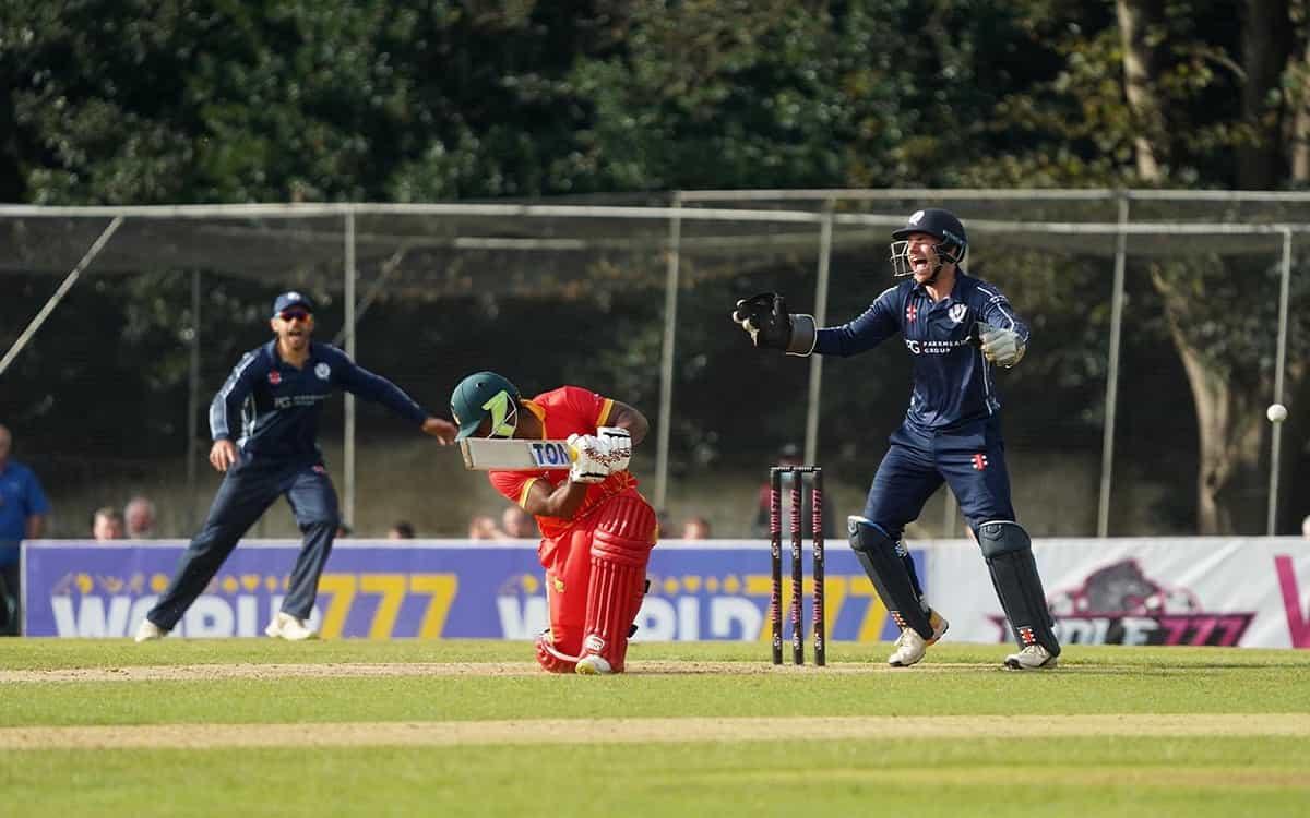 Scotland Take Twenty20 Series Opener Against Zimbabwe