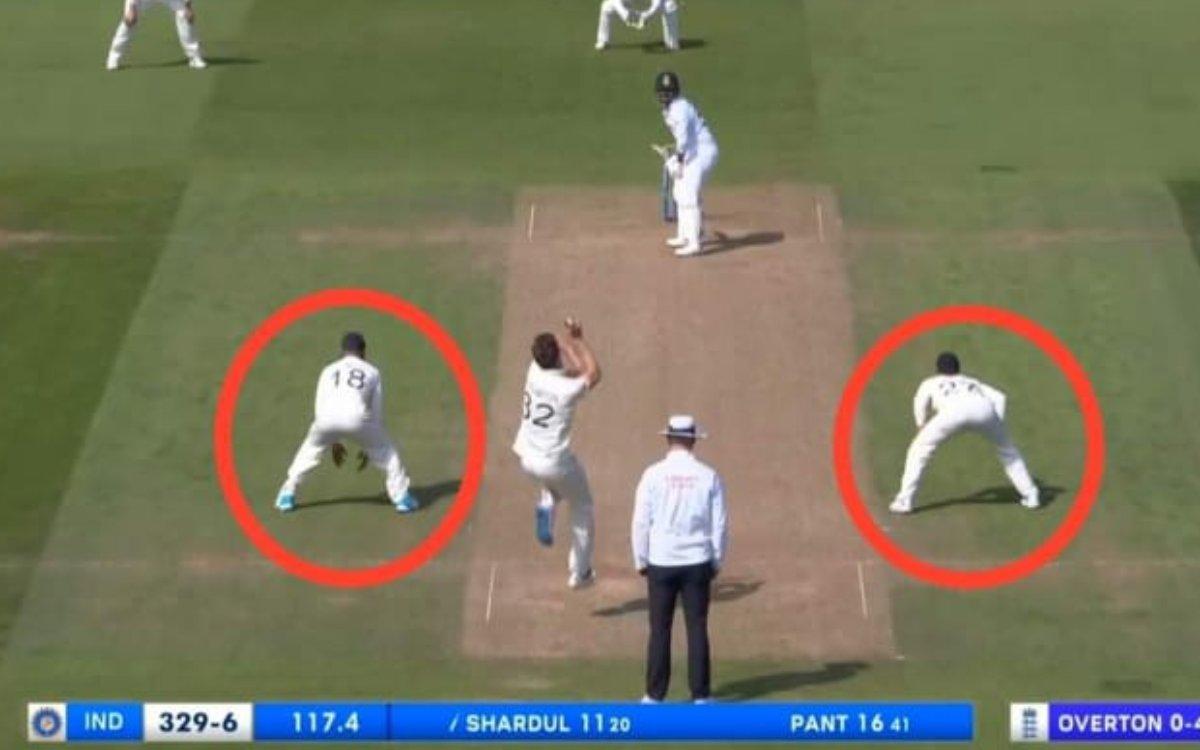 Cricket Image for VIDEO: शार्दुल के 'Straight Drive' से परेशान हुए रूट, फील्डिंग में देखी गई उथल-पुथ