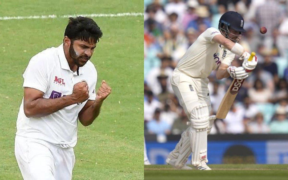 Cricket Image for VIDEO : 2 हाफ सेंचुरी और पहले ओवर में विकेट, बेज़ान विकेट पर ठाकुर ने झोंकी ज़ान