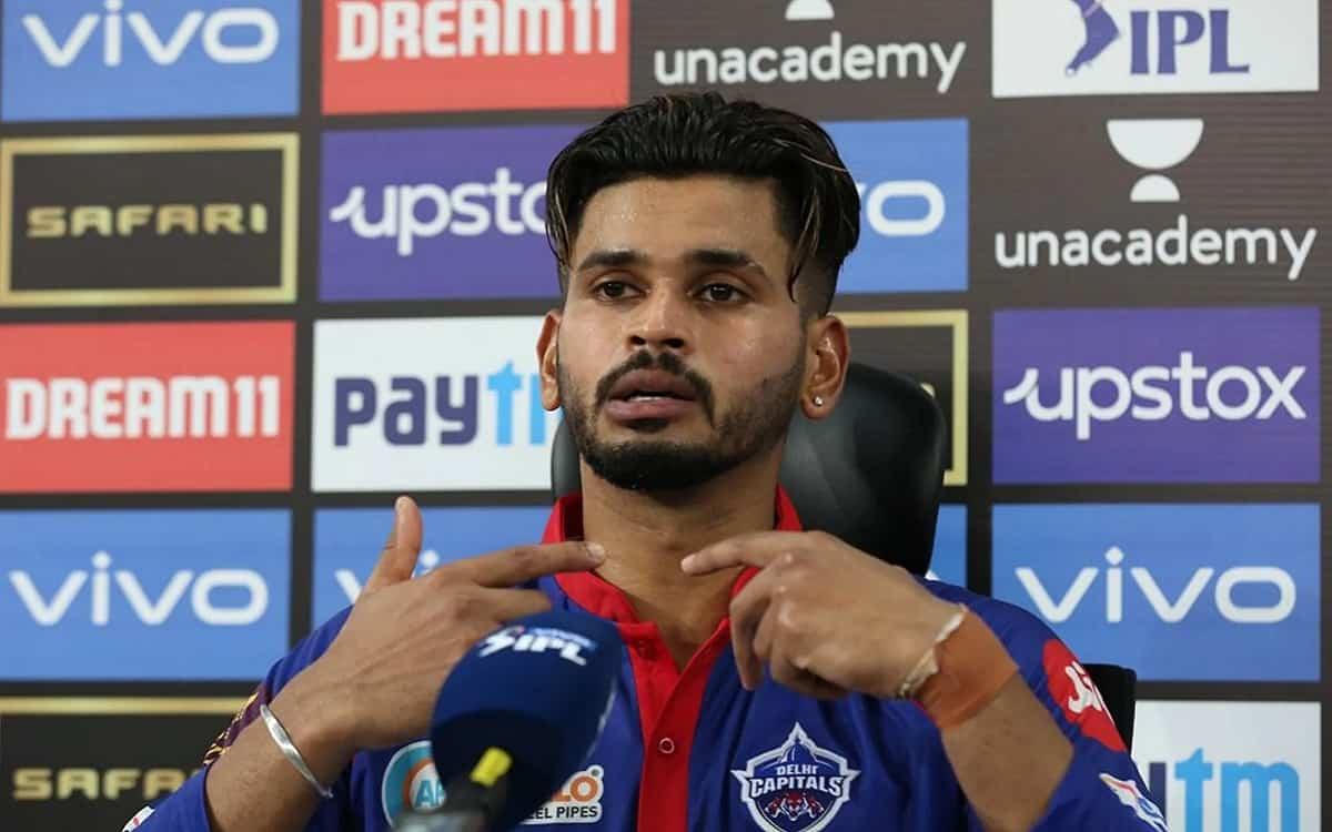 Cricket Image for IPL 2021: 'मैं वास्तव में अपने प्रदर्शन से खुश हूं', धमाकेदार पारी के बाद श्रेयस अ