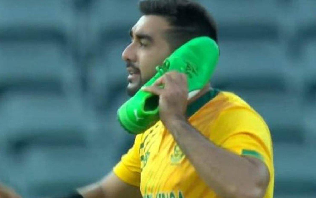 Cricket Image for 'मुझे नहीं लगता कि ये टीम बकवास है', शम्सी ने किया नई SA का बचाव