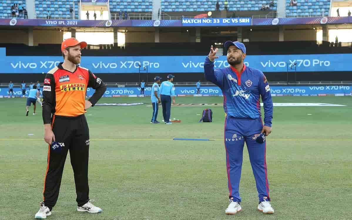 Cricket Image for IPL 2021: दिल्ली के खिलाफ टॉस जीतकर सनराइजर्स हैदराबाद ने चुनी बल्लेबाजी