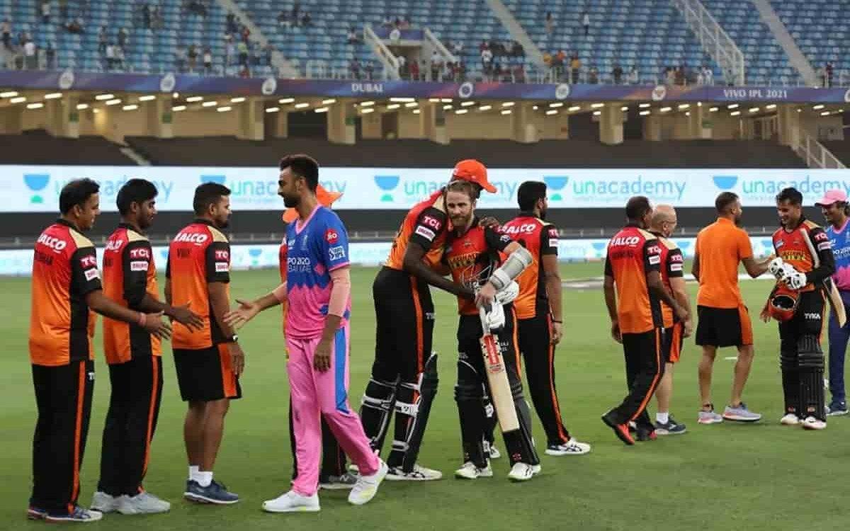 Cricket Image for IPL 2021: ਰਾਏ ਅਤੇ ਵਿਲੀਅਮਸਨ ਦੇ ਅਰਧ ਸੈਂਕੜਿਆਂ ਦੀ ਮਦਦ ਨਾਲ ਹੈਦਰਾਬਾਦ ਨੇ ਰਾਜਸਥਾਨ ਨੂੰ 7 ਵਿ