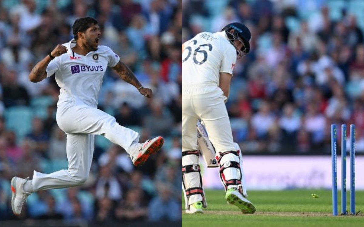 Cricket Image for VIDEO : उमेश यादव ने डाली 'Magic Ball', ओवल में उखाड़ डाली जो रूट की जड़ें