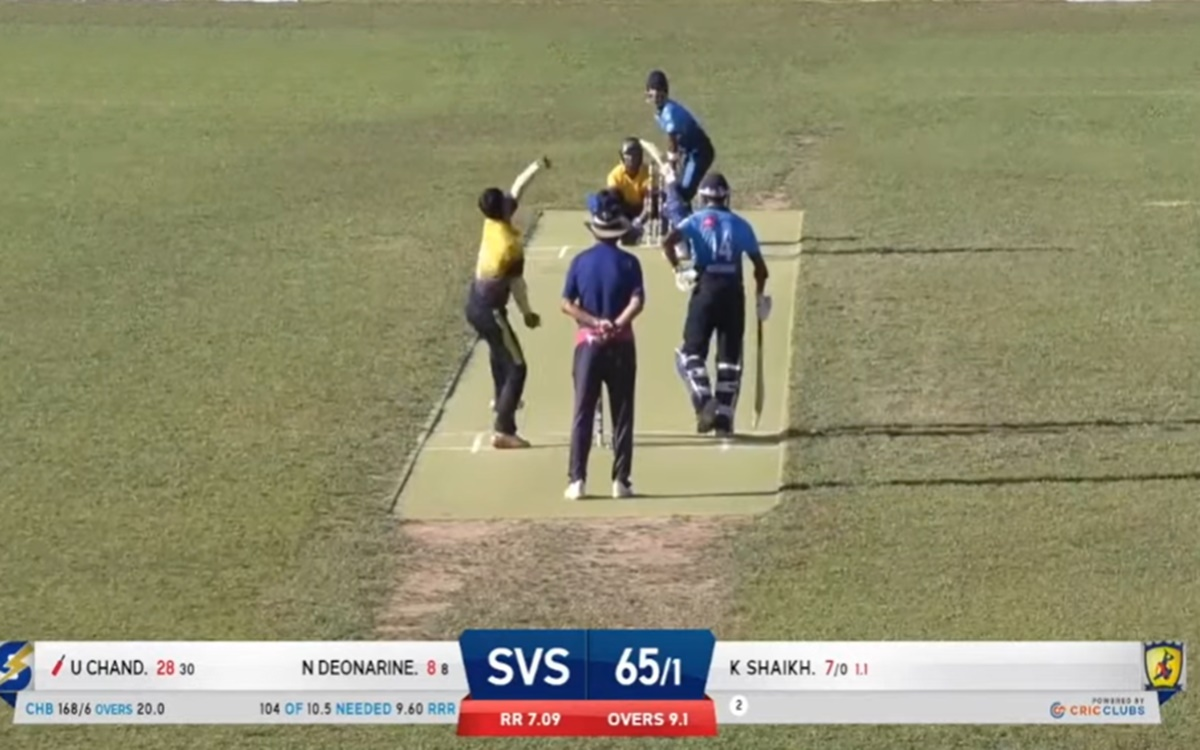 Cricket Image for Unmukt Chand Smacks 90 In Usa Minor League Watch Video