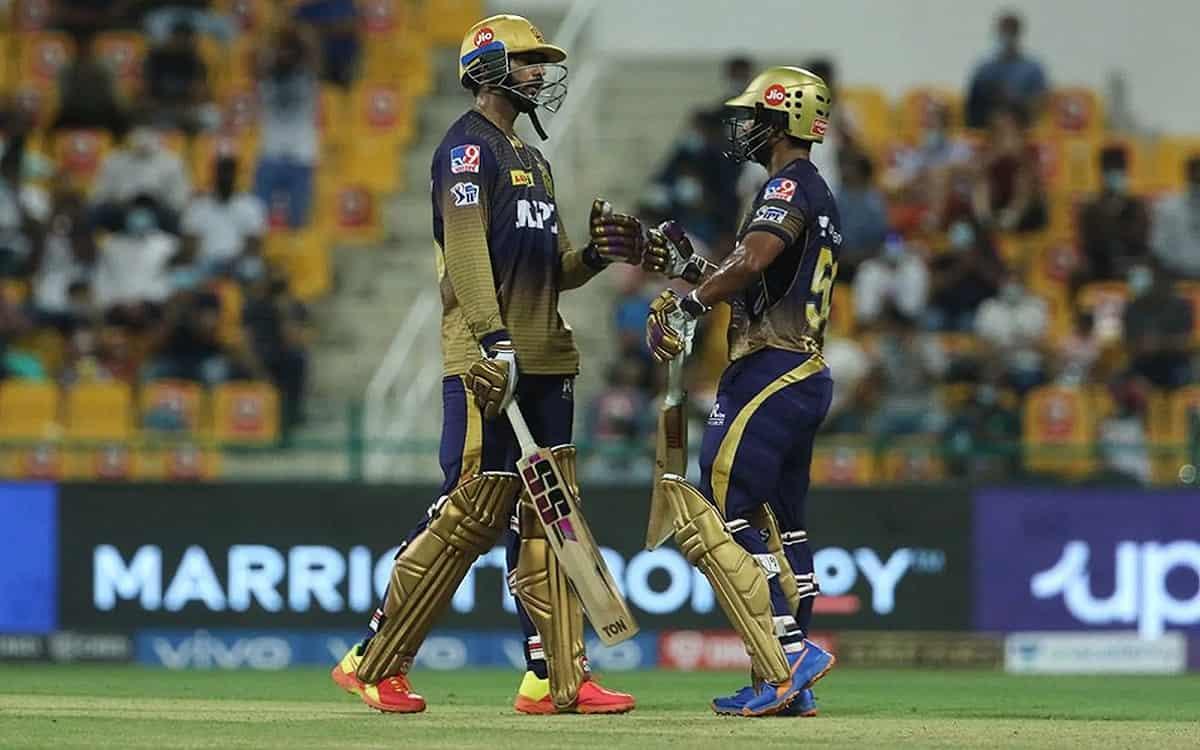 Cricket Image for  IPL 2021: अय्यर-त्रिपाठी की जोड़ी ने बरपाया मुंबई इंडियंस पर कहर, केकेआर 7 विकेट