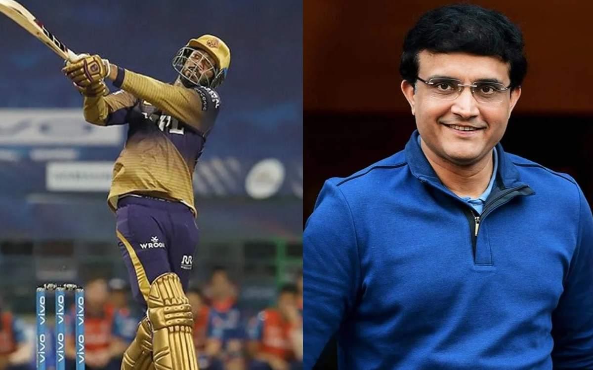 Cricket Image for Venkatesh Iyer Credits Sourav Ganguly For His Batting