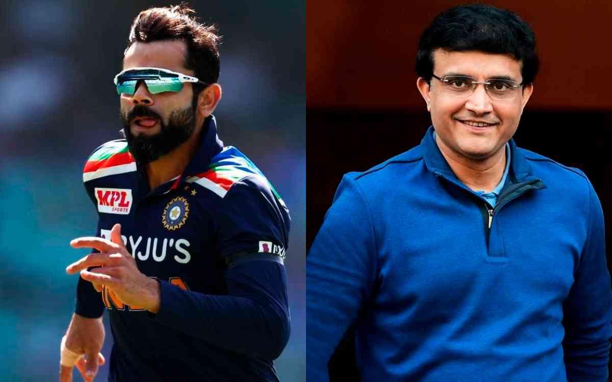 Cricket Image for Sourav Ganguly Thanks Virat Kohli For His Tremendous Performance As T20I Captain