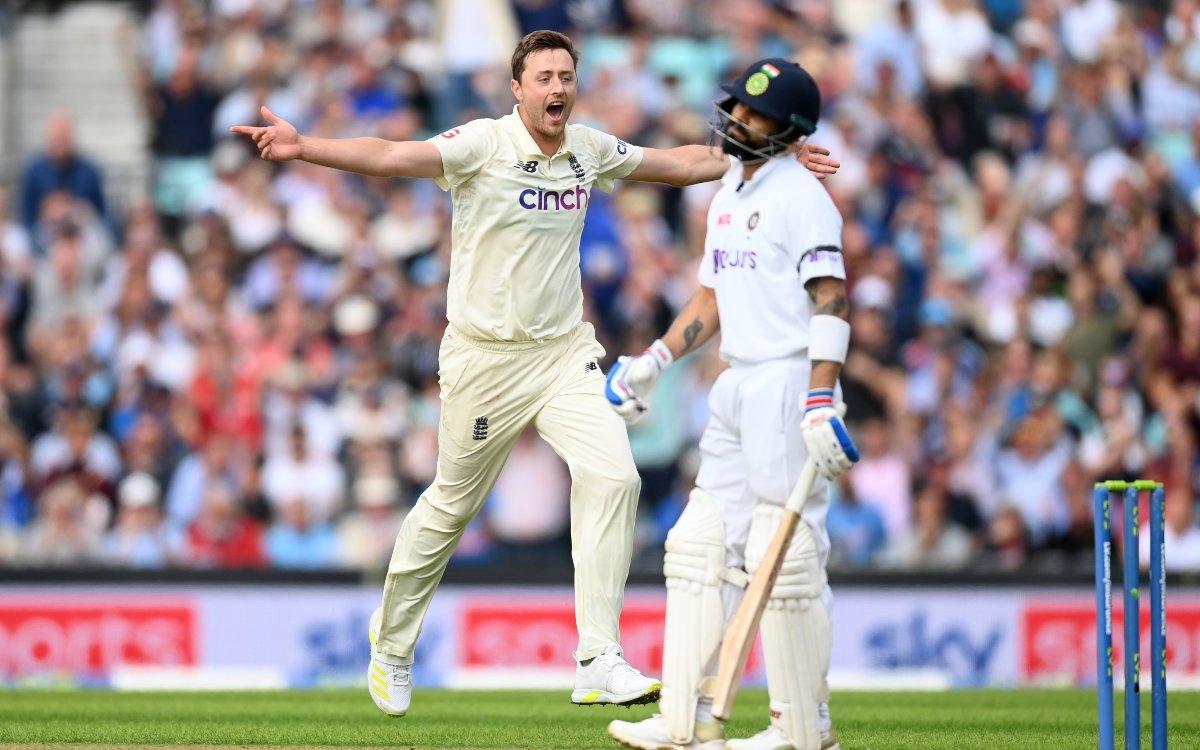 Cricket Image for VIDEO : नौसिखिया बॉलर पड़ रहा है विराट पर भारी, सीरीज में तीसरी बार उड़ाए कोहली के