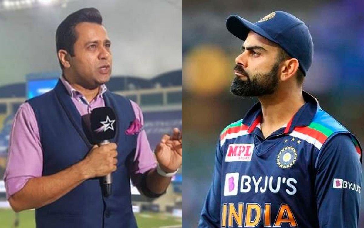 Cricket Image for क्या RCB की कप्तानी भी छोड़ देंगे विराट ? कोहली के फैसले से नाखुश हैं आकाश चोपड़ा